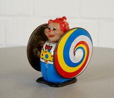 Federzug Blech Spielzeug aufziehbar psychedelisch Litographiert Vintage 50er J.