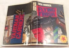 dick francis flying finish first ed 2nd imp in d/j ** lovely copy **