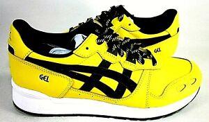 Asics Tiger Men's Gel Lyte Athletic Shoes Tai Chi Yellow/Black Size 8 M Eur 41.5
