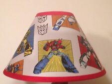 Transformers Fabric Children's Lamp Shade