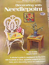 Decorating with Needlepoint Scobey and Sablow Creative Home Library Great Ideas