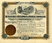 Black Hills Development & Financial Corporation