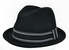 Whiteley 'City' Wool Trilby Hat In Black