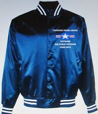 VIETNAM AIR FORCE VETERAN 1959-1975 * EMBROIDERED 1-SIDED SATIN JACKET