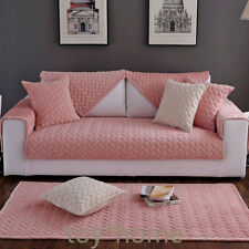 Polyester Sofa Covers Anti-Slip Couch Furniture Protector Recliner Slipcovers us