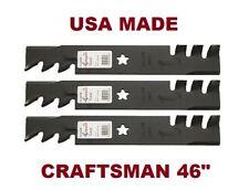 """Craftsman 46/"""" Deck Mulching Blades /& Spindle Kit 152443 143651 Husqvarna Poulan"""
