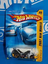 Hot Wheels 2007 New Models 29/36 Jet Threat 4.0 Silver & Yellow w/ Smoke Cover