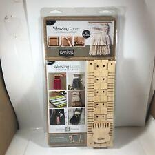 Bucilla Buc49021 Kyla Beals 10� Weaving Loom Kit Adjustable