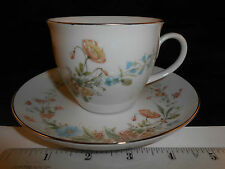 PREMIERE BERKSHIRE CUP AND SAUCER SET MD104 FINE CHINA FLORAL DAFFODILS PRETTY