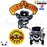 Guns N Roses Music Band Embroidered Iron On /Sew On Patch Badge For Clothes etc