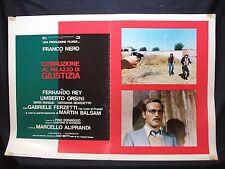 FOTOBUSTA CINEMA - CORRUZIONE AL PALAZZO DI GIUSTIZIA - FRANCO NERO - 1975 - 05