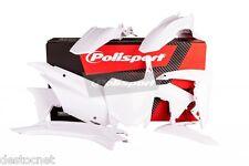 Kit plastiques Polisport  Couleur Blanc Honda CRF 110 F 2013 -> 2015