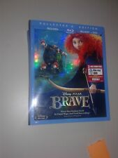 DISNEY PIXAR BRAVE NEW SEALED BLU-RAY DVD+3-Disc Set+Collectors Edition!