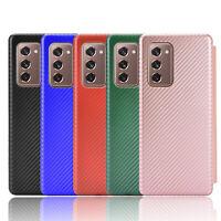 For Samsung Galaxy Z Fold2 Phone Case Shockproof Phone Shell Carbon Fiber CAU