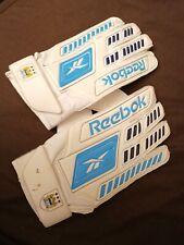 REEBOK SOCCER GOALKEEPER  Football GLOVES  WHITE/BLUE - SIZE 11