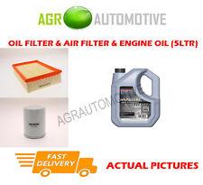DIESEL OIL AIR FILTER KIT + SS 10W40 OIL FOR FORD ESCORT 75 1.8 69 BHP 1995-01