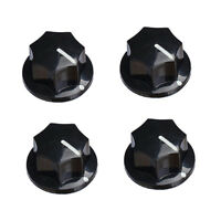 4x Guitar Speaker Knob Effect Pedal Cap Button Cover for Tone Volume Control