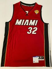Shaq Shaquille O'Neal Signed Miami Heat Jersey PSA 9A24217