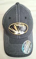 NEW w/ Tags Missouri Tigers Mizzou BallCap Stretch Fitted M/L Hat