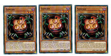 3 X Sangan YS17-DE013, Common, Playset, Link Strike, Mint