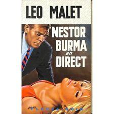 Malet (Léo) - Nestor Burma en direct.