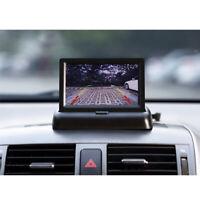 Foldable 4.3TFT LCD Car Monitor Display Rear View Monitor Screen For CCTV Camera