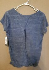 Threads 4 Thought Womans Batwing Top Blouse Casual Grey