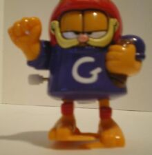 """Garfield 1999 Paws Wind-up and Walk 3"""" Football player toy WORKS"""