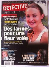 DETECTIVE du 15/09/2009; La joggeuse massacrée par un récidiviste/ 8 ans sous te