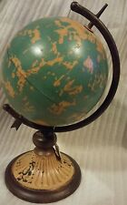 Metal Globe that spins on its axis* BRAND NEW** Table top*