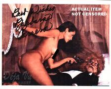 Barbara Carrera Autograph - Signed Photo - Nude - The Island of Dr. Moreau - COA