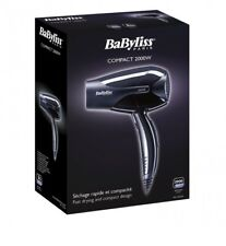 Babyliss D212E Expert Compact 2000W Travel Hair Dryer Fast Drying Genuine NEW