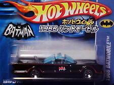 Hot Wheels JAPAN 1966 TV Series Batmobile Short Card Adam West George Barris