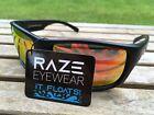 RAZE Eyewear Sunglasses Offshore floating polarized fishing black mirrored