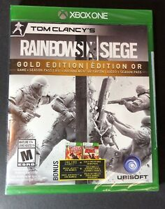 Tom Clancy's Rainbow Six Siege [ GOLD Edition ] (XBOX ONE) NEW