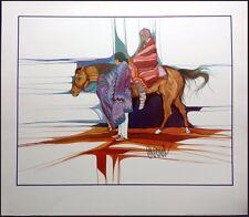 """Amado Pena """"Caballito de Las Americas""""offset lithograph HAND SIGNED"""