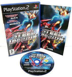 Steel Dragon EX ~ Sony PlayStation 2 PS2 SHMUP ~ PAL *Excellent Complete*