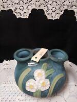 Roseville Pottery 3 Hole Vase Vintage