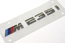 Genuine BMW F22 F23 Trunk Lid M 235i Emblem Badge Logo Sign OEM 51128055967