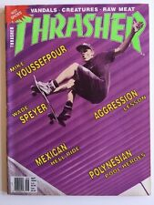 Thrasher Skateboarding Magazine September 1990 Vandals Wade Speyer Am Profiles