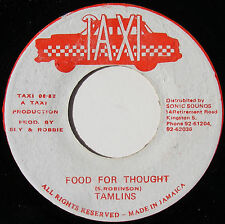 THE TAMLINS Food For Thought SLY & ROBBIE Dub JA 1982 MOTOWN MEETS TRENCHTOWN