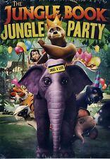 BRAND NEW CHILDREN'S  DVD // THE JUNGLE BOOK // JUNGLE PARTY //72 min