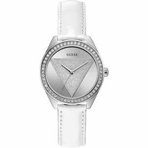 NEW! Guess Ladies Diamond Bezel Tri Glitz Quartz Watch W0884L2 RRP £99.00