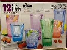 First Design Global Tritan Drinkware 12 Piece Set