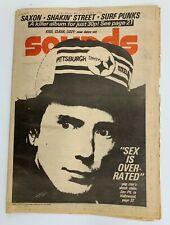 Sounds Music Magazine May 24 1980 PIL John Lydon Saxon Shakin Street Surf Punks