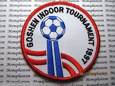 Patch GOSHEN INDOOR TOURNAMENT 1997 SOCCER BALL