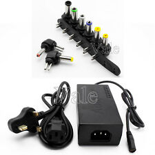 Universal AC Power Cable Supply Charger Adapter For HP DELL TOSHIBA Laptop 96W