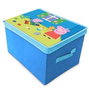 Peppa Wutz Falt-Spielzeugkiste Box Storage Kid's Room Pig Piggy New