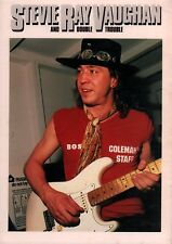 STEVIE RAY VAUGHAN 1984 COULDN'T STAND THE WEATHER TOUR PROGRAM BOOK / NMT