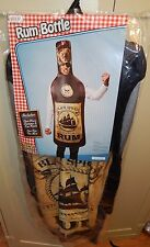 Halloween Costume Rum Bottle Black Spiced One Piece By Rasta Imposta Adult 119P